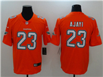 Miami Dolphins #23 Jay Ajayi Orange Vapor Untouchable Limited Jersey