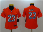 Miami Dolphins #23 Jay Ajayi Women's Orange Vapor Untouchable Limited Jersey