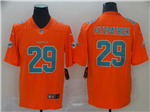 Miami Dolphins #29 Minkah Fitzpatrick Orange Inverted Limited Jersey