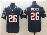 New England Patriots #26 Sony Michel Blue Vapor Untouchable Limited Jersey