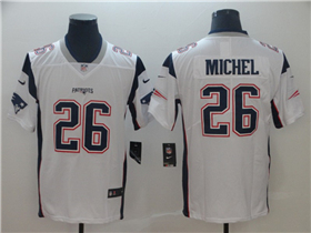 New England Patriots  26 Sony Michel White Vapor Untouchable Limited Jersey 8c9b0bf6a