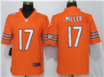 Chicago Bears #17 Anthony Miller Orange Vapor Untouchable Limited Jersey