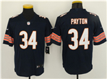 Chicago Bears #34 Walter Payton Blue Vapor Untouchable Limited Jersey