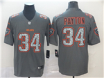 Chicago Bears #34 Walter Payton Gray Camo Limited Jersey