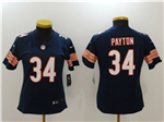 Chicago Bears #34 Walter Payton Women's Blue Vapor Untouchable Limited Jersey