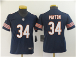 Chicago Bears #34 Walter Payton Youth Blue Vapor Limited Jersey