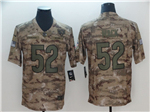 Chicago Bears #52 Khalil Mack 2018 Camo Salute To Service Limited Jersey