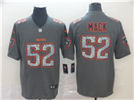 Chicago Bears #52 Khalil Mack Gray Camo Limited Jersey