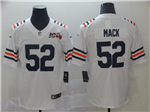Chicago Bears #52 Khalil Mack 2019 Alternate White 100th Season Classic Limited Jersey