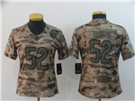 Chicago Bears #52 Khalil Mack Women's 2018 Camo Salute To Service Limited Jersey