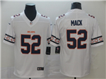 Chicago Bears #52 Khalil Mack White Team Logos Fashion Limited Jersey