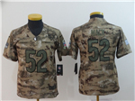 Chicago Bears #52 Khalil Mack Youth 2018 Camo Salute To Service Limited Jersey