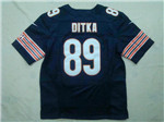 Chicago Bears #89 Mike Ditka Elite Navy Blue Jersey
