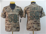 Denver Broncos #58 Von Miller Youth 2018 Camo Salute To Service Limited Jersey