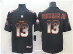 Cleveland Browns #13 Odell Beckham Jr. Black Arch Smoke Limited Jersey
