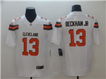 Cleveland Browns #13 Odell Beckham Jr. White Vapor Untouchable Limited Jersey