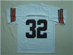 Cleveland Browns #32 Jim Brown 1964 Throwback White Jersey