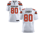 Cleveland Browns #80 Jarvis Landry Elite White Jersey