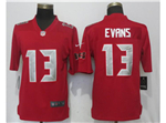 Tampa Bay Buccaneers #13 Mike Evans Red Color Rush Limited Jersey