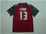 Tampa Bay Buccaneers #13 Mike Evans Youth Red Jersey