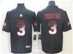 Tampa Bay Buccaneers #3 Jameis Winston Black Arch Smoke Limited Jersey