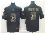Tampa Bay Buccaneers #3 Jameis Winston Black Gold Vapor Untouchable Limited Jersey
