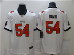 Tampa Bay Buccaneers #54 Lavonte David White Vapor Untouchable Limited Jersey