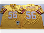 Tampa Bay Buccaneers #56 Hardy Nickerson Throwback Gold Jersey