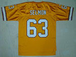 Tampa Bay Buccaneers #63 Roy Selmon Throwback Gold Jersey