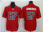 Tampa Bay Buccaneers #87 Rob Gronkowski Red Color Rush Limited Jersey