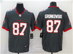 Tampa Bay Buccaneers #87 Rob Gronkowski 2020 Gray Vapor Untouchable Limited Jersey