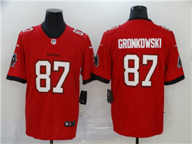 Tampa Bay Buccaneers #87 Rob Gronkowski 2020 Red Vapor Limited Jersey