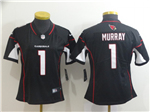 Arizona Cardinals #1 Kyler Murray Women's Black Vapor Untouchable Limited Jersey