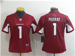 Arizona Cardinals #1 Kyler Murray Women's Red Vapor Untouchable Limited Jersey