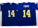 San Diego Chargers #14 Dan Fouts Throwback Blue Jersey