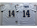 San Diego Chargers #14 Dan Fouts Throwback White Jersey