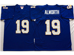 San Diego Chargers #19 Lance Alworth Throwback Blue Jersey