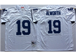 San Diego Chargers #19 Lance Alworth Throwback White Jersey