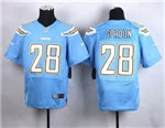 Los Angeles Chargers #28 Melvin Gordon Elite Powder Blue Jersey
