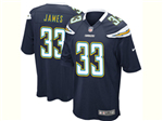 Los Angeles Chargers #33 Derwin James Elite Navy Blue Jersey