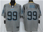 Los Angeles Chargers #99 Joey Bosa Grey Lights Out Elite Jersey