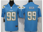 Los Angeles Chargers #99 Joey Bosa Powder Blue Vapor Untouchable Limited Jersey