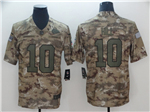 Kansas City Chiefs #10 Tyreek Hill 2018 Camo Salute To Service Limited Jersey