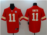 Kansas City Chiefs #11 Alex Smith Red Vapor Untouchable Limited Jersey