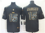 Kansas City Chiefs #15 Patrick Mahomes Black Gold Vapor Untouchable Limited Jersey
