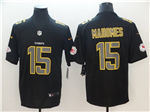 Kansas City Chiefs #15 Patrick Mahomes Black Vapor Impact Limited Jersey