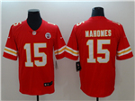 Kansas City Chiefs #15 Patrick Mahomes Youth Red Vapor Untouchable Limited Jersey