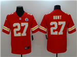 Kansas City Chiefs #27 Kareem Hunt Red Vapor Untouchable Limited Jersey