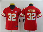 Kansas City Chiefs #32 Tyrann Mathieu Youth Red Vapor Untouchable Limited Jersey