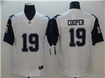 Dallas Cowboys #19 Amari Cooper White Color Rush Limited Jersey
